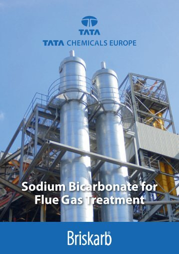 Sodium Bicarbonate for Flue Gas Treatment - Tata Chemicals