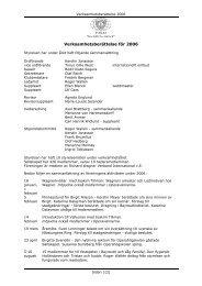 Verksamhetsberättelse för 2006 - Svenska Wagner-Sällskapet