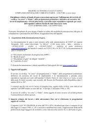 REGIONE AUTONOMA VALLE D'AOSTA COMPLESSO ...
