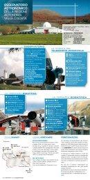 Brochure - Osservatorio Astronomico della Regione Autonoma Valle ...