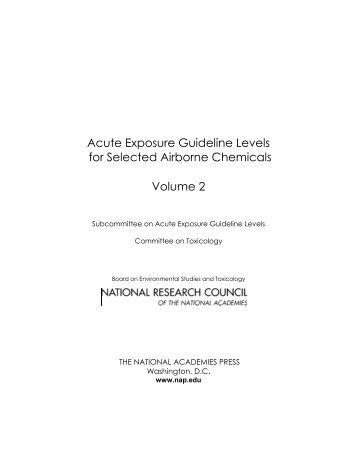 Hydrogen Cyanide Final AEGL Document - US Environmental ...