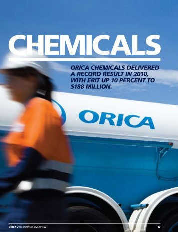 Chemicals - Orica Limited 2011 Business Overview