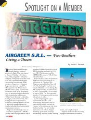 AIRGREEN S.R.L. — Two Brothers Living A Dream - Rotor®Magazine