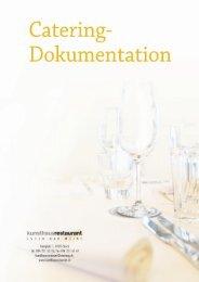 Catering-Dokumentation (PDF) - Kunsthaus Restaurant