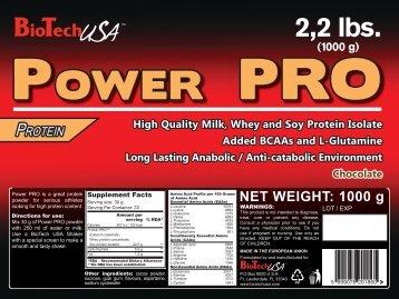POWER PRO - BiotechUSA