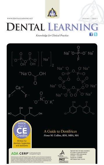 Download PDF - Dental Learning
