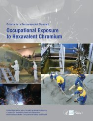 Occupational Exposure to Hexavalent Chromium - Centers for ...