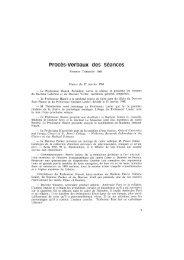 Procès-verbaux des Séances - Bibliothèque interuniversitaire de ...