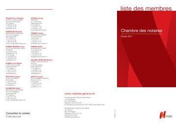 liste des membres cqam pdf