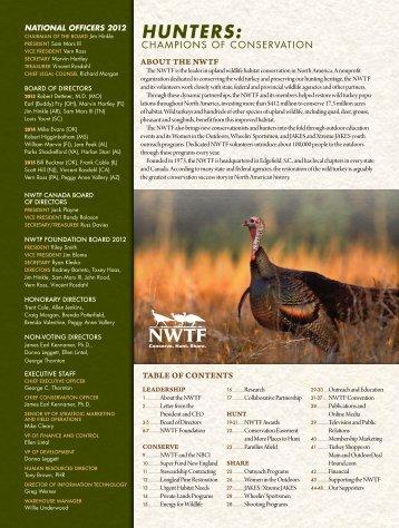 Conserve - National Wild Turkey Federation