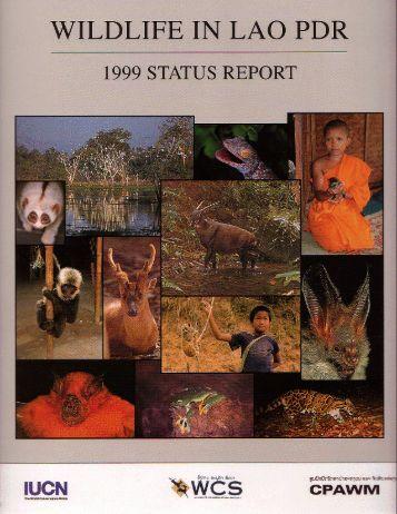 Wildlife of Lao PDR: 1999 Status Report - IUCN
