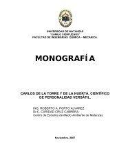 MONOGRAFÍA - Universidad de Matanzas Camilo Cienfuegos