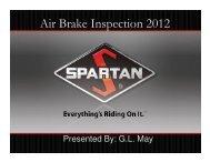 Air Brake Inspection 2012
