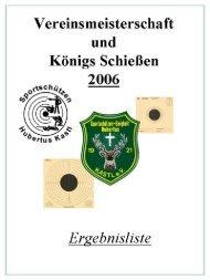 vereinsmeisterschaft 2006