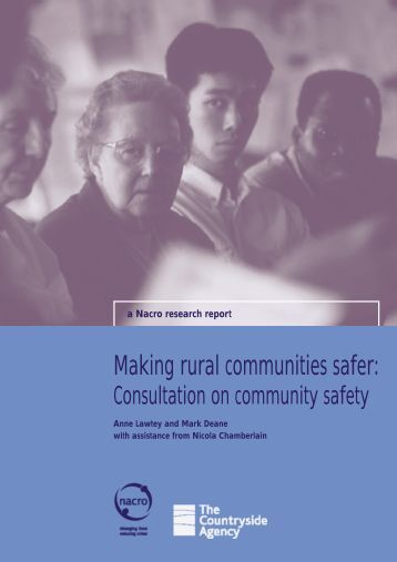 Making rural communities safer: - Nacro