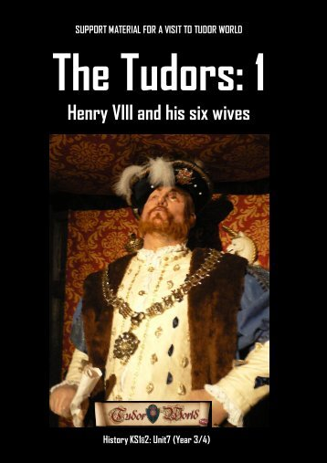 Support material for a visit to tudor world - The Falstaffs Experience
