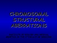 structural aberrations