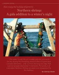 Northern shrimp: A gala addition to a winter's night - Maine Sea Grant