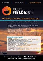 20318.002 Mature Fields Brochure_Master_Updated ... - Conferensum