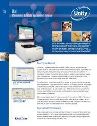 Chemometric Database Management Software