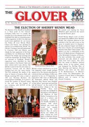 THE GLOVER December 2011 - The Worshipful Company of Glovers