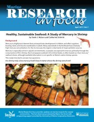 Healthy, Sustainable Seafood: A Study of Mercury in Shrimp