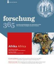 Afrika Africa - Universität zu Köln