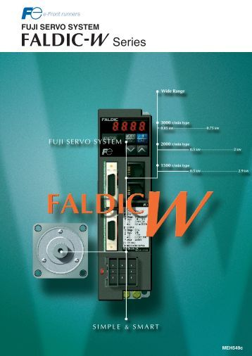 FUJI SERVO SYSTEM - Fuji Electric