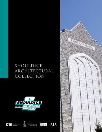 SHOULDICE ARCHITECTURAL COLLECTION