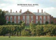 Bosworth Hall Brochure - Britannia Hotels