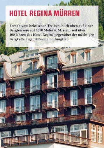 Geschichte - Hotel Regina
