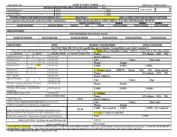 2007 Horse Trials & Two-Day Events Entry Form - United States ...