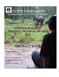 TUFTS UNIVERSITY - Cummings School of Veterinary Medicine at ...