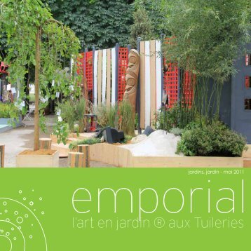 l'art en jardin ® aux Tuileries - Emporial