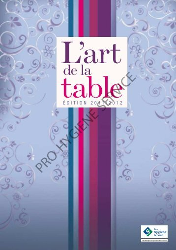 table L'art - pro hygiene service