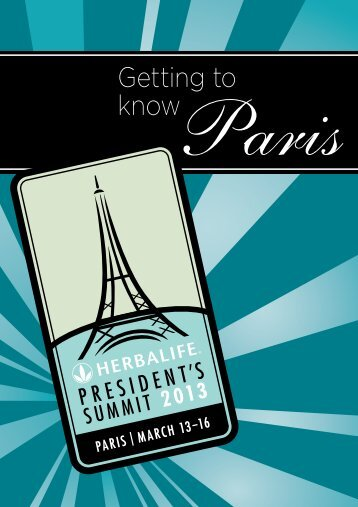 Getting to Know Paris - Herbalife Summit