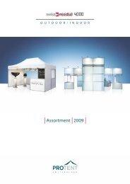 ProTent Preisliste 2008 (Deutsch) - Pro Tent AG