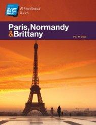 Paris, Normandy &Brittany - EF Tours