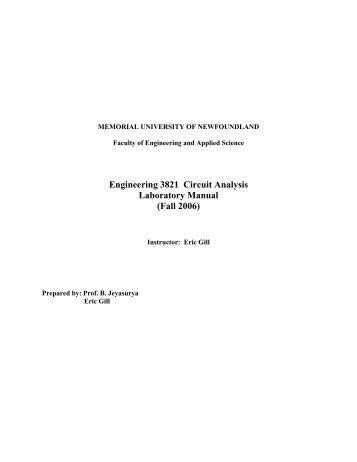 esc 400 h engineering electromagnetic fields laboratory manual rh yumpu com