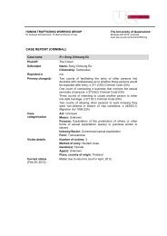 CASE REPORT (CRIMINAL) - TC Beirne School of Law - University ...