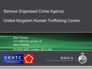 Human Trafficking Presentation - Reconstruct Online Procedures