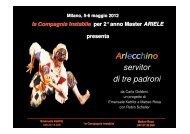Arlecchino servitor di tre padroni - ARIELE - Associazione Italiana di ...