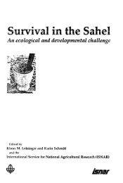 Survival in the Sahel
