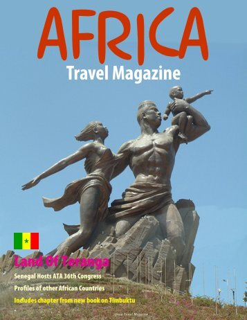 Africa Travel Magazine ATA 36th Edition Senegal - air highways ...