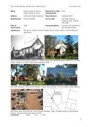 Bendigo Former Mine Land Project - City of Greater Bendigo