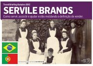 Download SERVILE BRANDS em PDF - Trendwatching