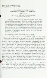 the senegalese speech community - Ideals - University of Illinois at ...