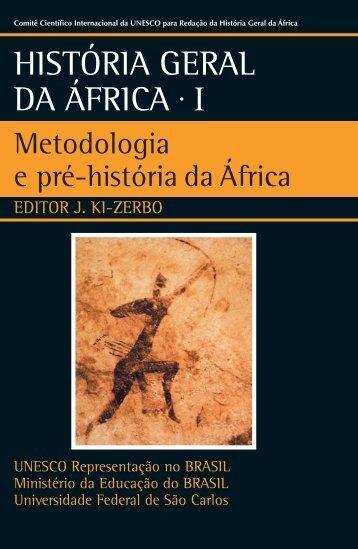 Metodologia e Pré-História da África - unesdoc - Unesco