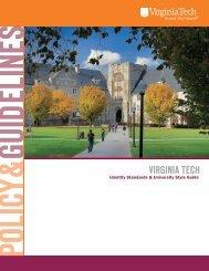 Branding and Identity - Virginia Tech