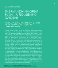 the pannonian great plain – a flourishing garden? - Landscape Europe